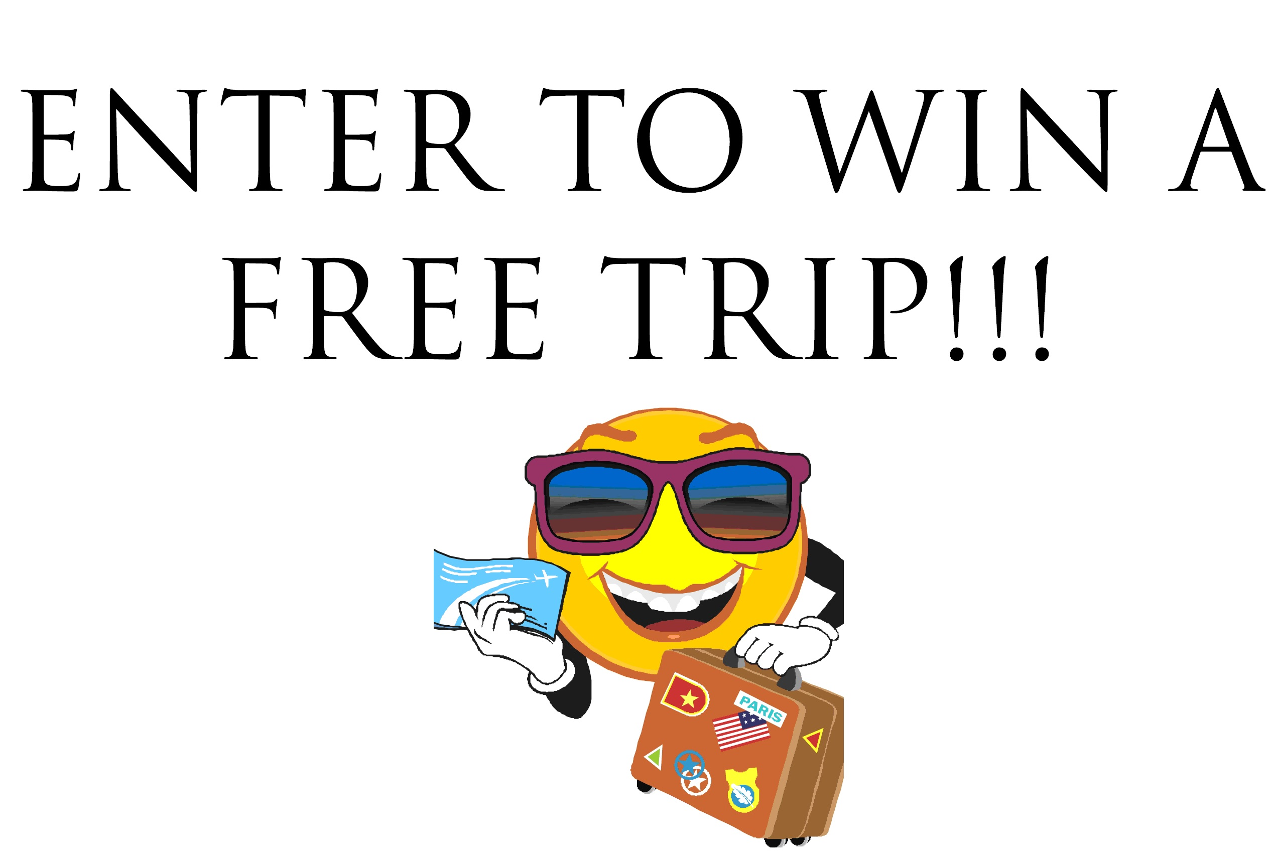 Vacation giveaway promotions